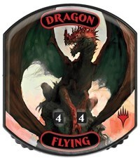 Ultra Pro - Relic Tokens: Eternal Collection - Dragon (Flying)