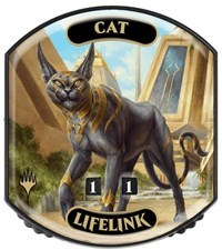 Ultra Pro - Relic Tokens: Eternal Collection - Cat (Lifelink) - Foil