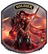 Ultra Pro - Relic Tokens: Eternal Collection - Soldier - Foil
