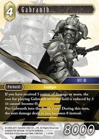 Gabranth - 5-078R - R