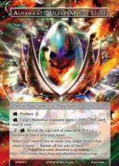 Alhama'at's Ultra Magic Stone - SDR6-012 - SR