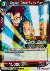 Vegeta, Powerful as Ever (Judge PR) - P-030 - PR