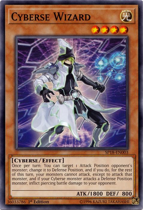 Cyberse Wizard - SP18-EN003 - Common - 1st Edition