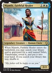 Niambi, Faithful Healer - Planeswalker Deck Exclusive
