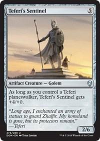 Teferis Sentinel - Planeswalker Deck Exclusive