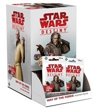 Star Wars Destiny: Way of the Force Booster Display