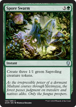 Spore Swarm - Foil