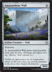 Amaranthine Wall - Foil on Channel Fireball