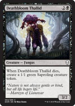 Deathbloom Thallid - Foil