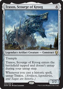 Traxos, Scourge of Kroog - Foil