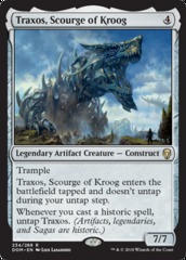 Traxos, Scourge of Kroog - Foil