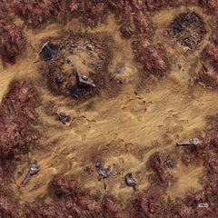 Star Wars: Legion - Desert Junkyard Gamemat