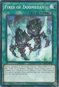 Fires of Doomsday - SR06-EN028 - Common - 1st Edition