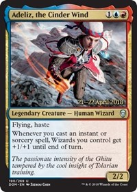 Adeliz, the Cinder Wind - Foil - Prerelease Promo
