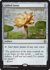 Gilded Lotus - Foil - Prerelease Promo