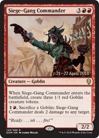 Siege-Gang Commander - Foil - Prerelease Promo