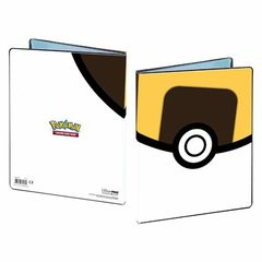 Ultra Pro Pokemon 9 Pocket Portfolio (Holds 360) - Yellow Ultra Ball