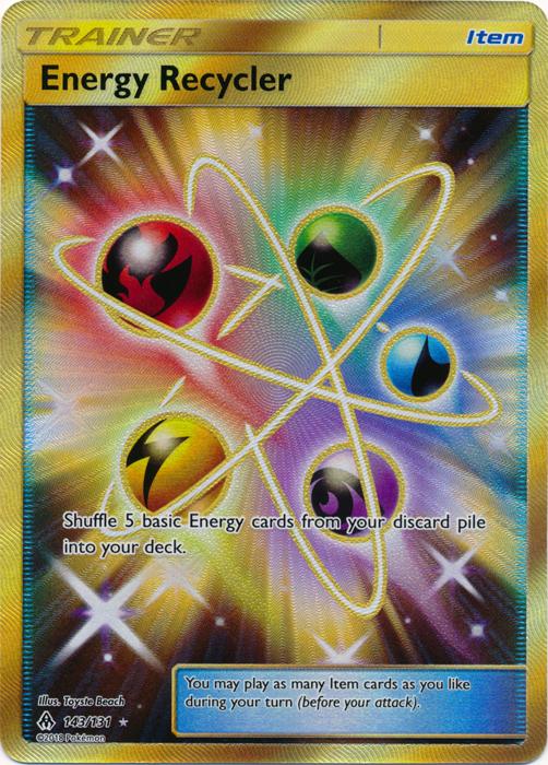 Energy Recycler - 143/131 - Secret Rare