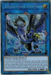 Knightmare Gryphon - FLOD-EN048 - Secret Rare - 1st Edition