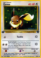 Eevee - 55/82 - Common - 1st Edition