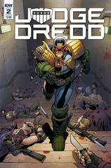Judge Dredd Under Siege #2 (Of 4) Cvr A Dunbar