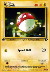 Voltorb - 69/82 - Common - 1st Edition
