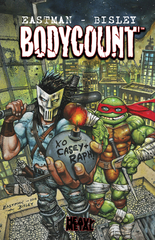 Teenage Mutant Ninja Turtles Bodycount Hardcover (Mature Readers)