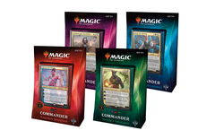 Commander 2018 Set of 4