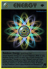 Rainbow Energy - 80/82 - Rare - 1st Edition