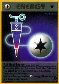Full Heal Energy - 81/82 - Uncommon - 1st Edition