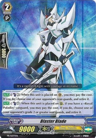 Blaster Blade - PR/0377EN - PR - Cardfight!! Vanguard
