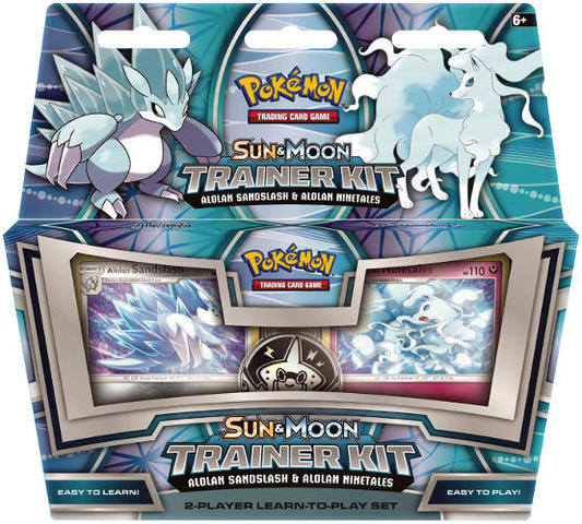 Pokemon: Sun & Moon Trainer Kit - Alolan Sandslash & Alolan Ninetales
