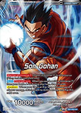 FR Dragon Ball Super TB1-036 UC Série SP1 Tournament Of Power Card Game