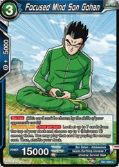 Focused Mind Son Gohan - TB1-029 - C