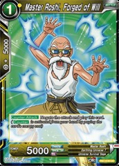 Master Roshi, Forged of Will - TB1-076 - UC