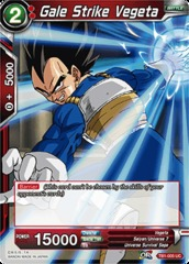 Gale Strike Vegeta (Foil) - TB1-005 - UC