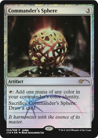 Commanders Sphere (Judge Foil)