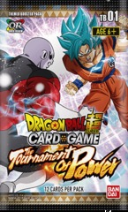 Dragon Ball Super: Theme Booster 1: Tournament of Power - Booster Pack on Channel Fireball