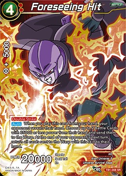 Foreseeing Hit - TB1-008 - SR
