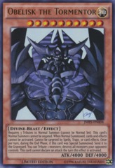 Obelisk the Tormentor - JMPS-EN004 - Ultra Rare - Limited Edition