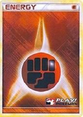 Fighting Energy - 2010 Crosshatch Holo Play! Pokemon Promo