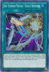 Sky Striker Mecha - Eagle Booster - DASA-EN035 - Super Rare - 1st Edition