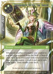 WOM-076 - SR - Reincarnation of the Holy Tree, Yggdrasil