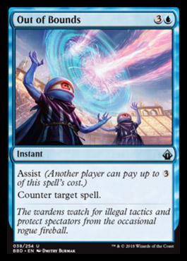 Out of Bounds - Foil