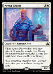 Arena Rector - Foil on Channel Fireball