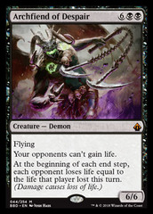 Archfiend of Despair - Foil on Channel Fireball