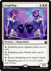 Brightling - Foil on Channel Fireball