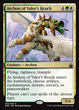 Archon of Valors Reach - Foil