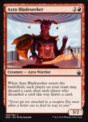 Azra Bladeseeker on Channel Fireball