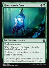 Karametra's Favor - Foil